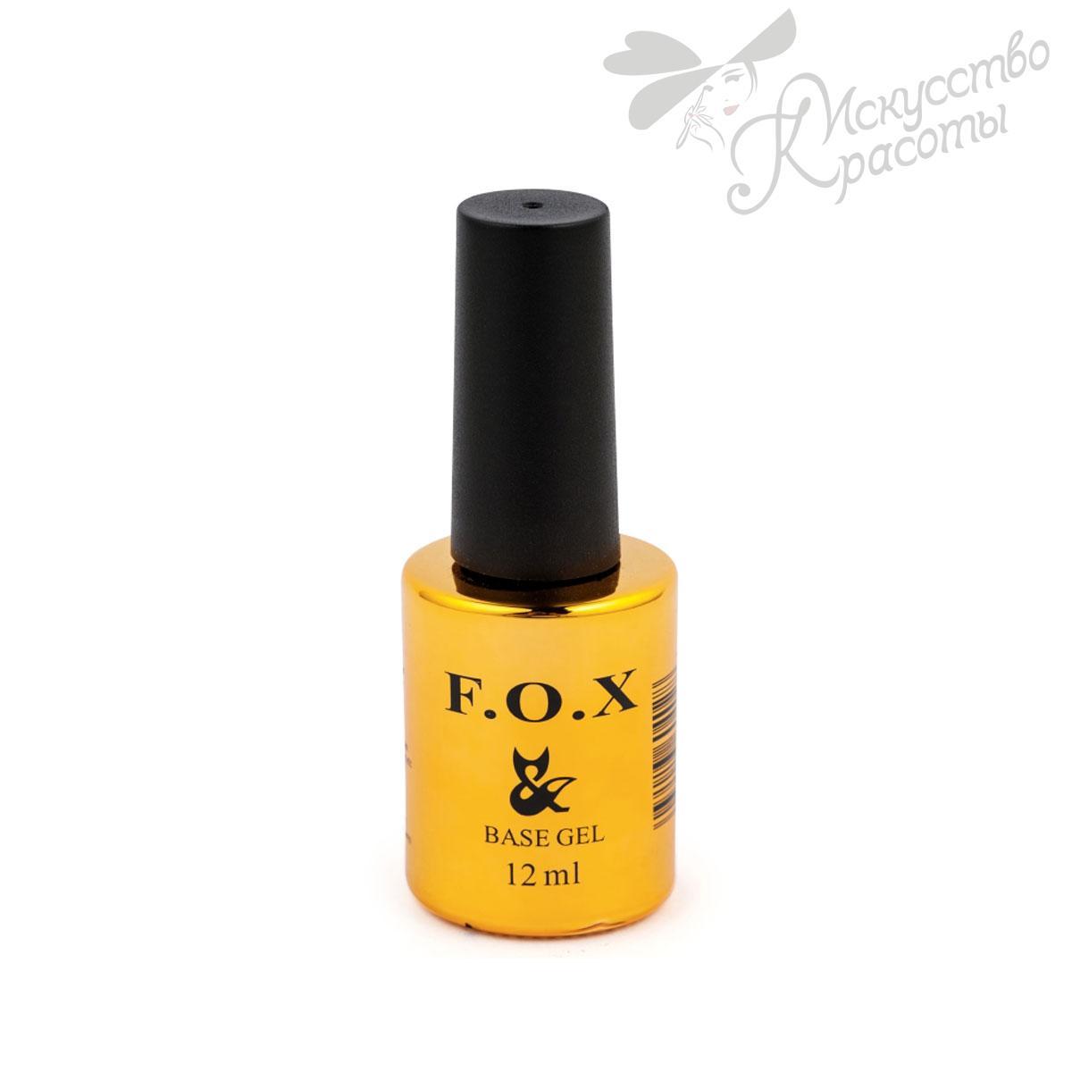 Базовое покрытие для ногтей Base Strong  FOX 12 мл
