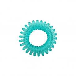 Резинка для волос бирюзово-зеленая прозрачная EZ Bobbles 3шт/уп - Ezbobbles. цена, купить в Украине