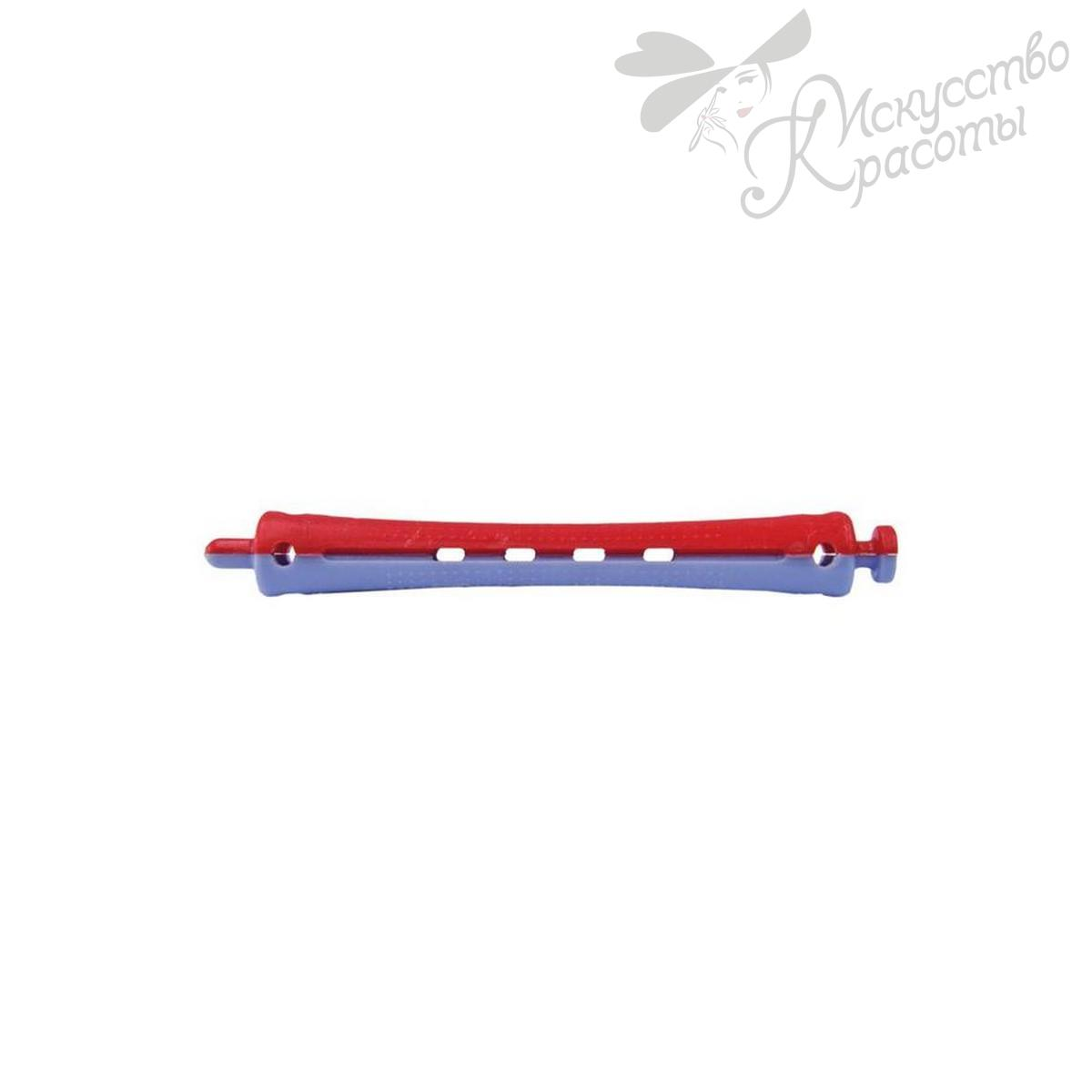 Бигуди-коклюшки D 9мм сине-красные TICO