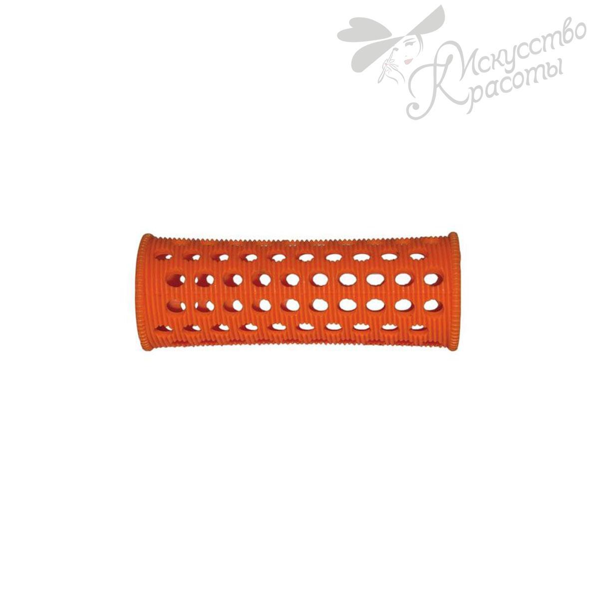Бигуди пластмассовые D23мм оранжевые TICO