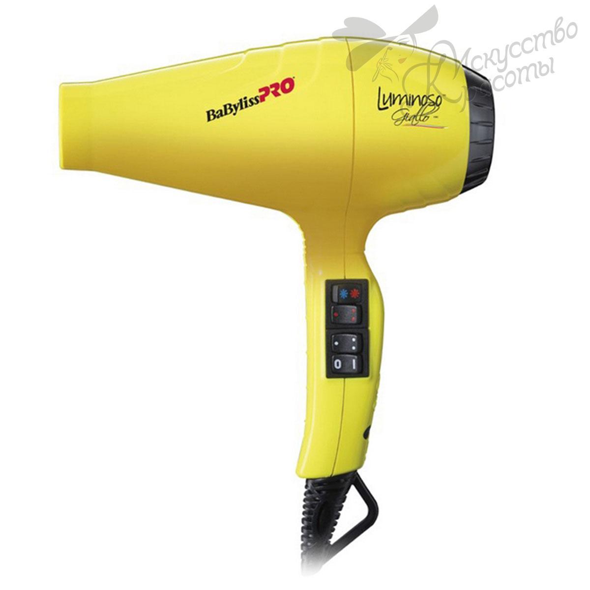 Фен для волос 6350IYE Babyliss Giallo Ionic