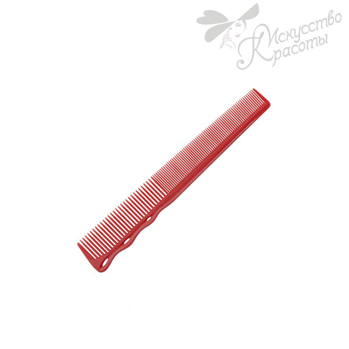 Расческа для стрижки 252 red Y.S. Park