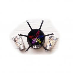 Цветные венчики для смешивания краски ID Hair 1шт - ID Hair Professional. цена, купить в Украине