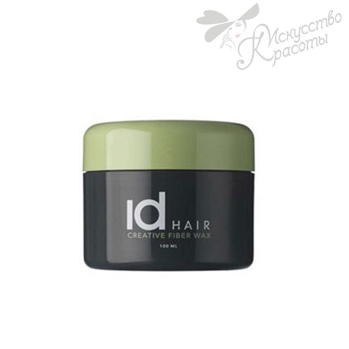 Воск для стайлинга сильной фиксации ID Hair Creative Fiber Wax 100 мл
