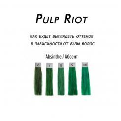 Прямой краситель Absinthe Pulp Riot 118 мл - Pulp Riot. цена, купить в Украине