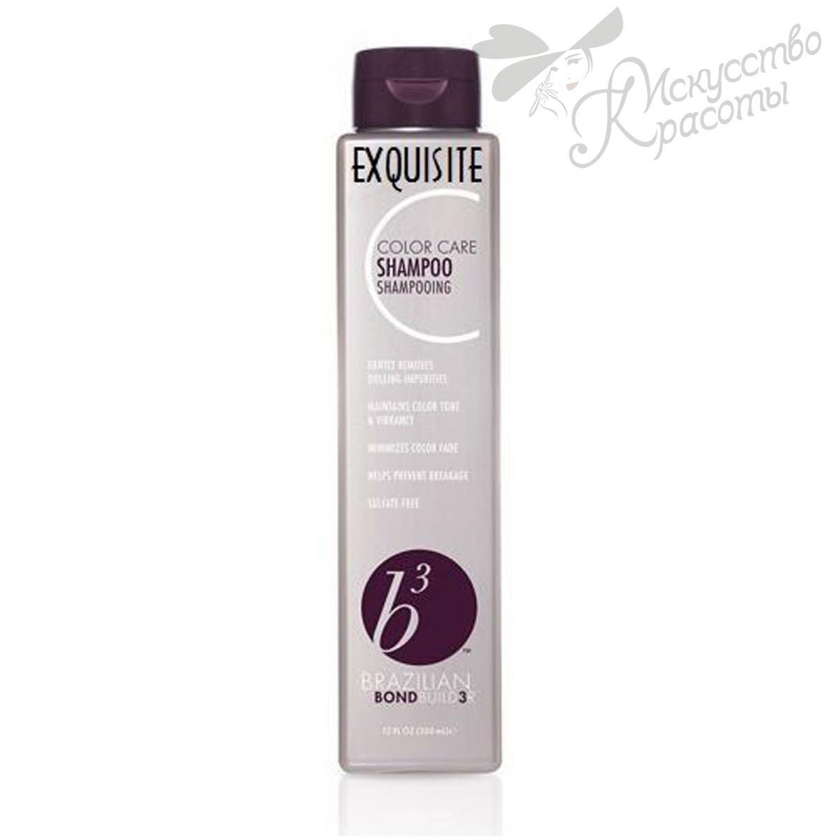 Шампунь для окрашенных волос Brazilian Blowout Brazilian Bond Builder b3 Shampoo 350 ml