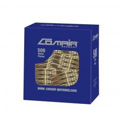 Невидимки «Pretty Fashion» золотые 7 см Comair  500 шт - Comair. цена, купить в Украине