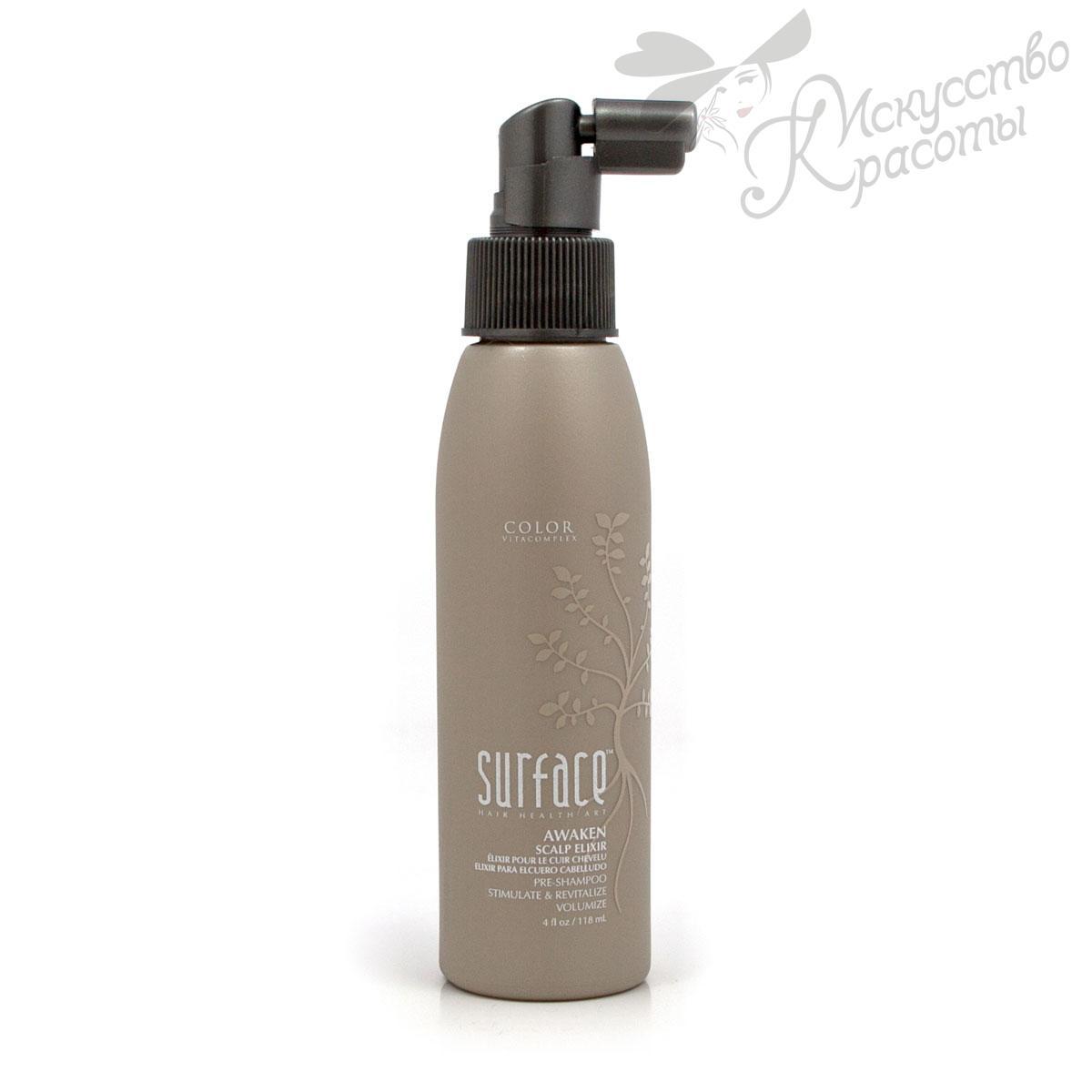 Surface Awaken health 69729 Эликсир для кожи головы/ Pre-Treat Elixor, 118 мл