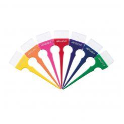 Кисточка для окрашивания широкая оранжевый Rainbow Comair - Comair. цена, купить в Украине