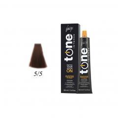 Краска для волос 5/5 каштановый светлый махагон Tone Intense Vitality's 100мл - Vitality's. цена, купить в Украине