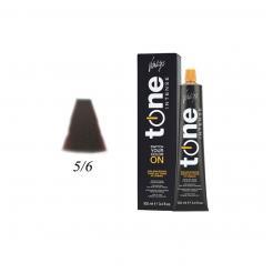 Краска для волос 5/6 каштановый светлый красныйTone Intense Vitality's 100мл - Vitality's. цена, купить в Украине