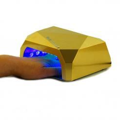 Лампа для сушки ногтей золотая Diamond CCFL/LED 36W - Diamond. цена, купить в Украине