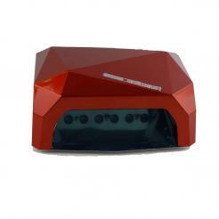 Лампа для сушки ногтей красная Diamond CCFL/LED 36W - Diamond. цена, купить в Украине
