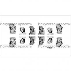 "Наклейка для ногтей ""Мерилин Монро"" Nail OK - . цена, купить в Украине"