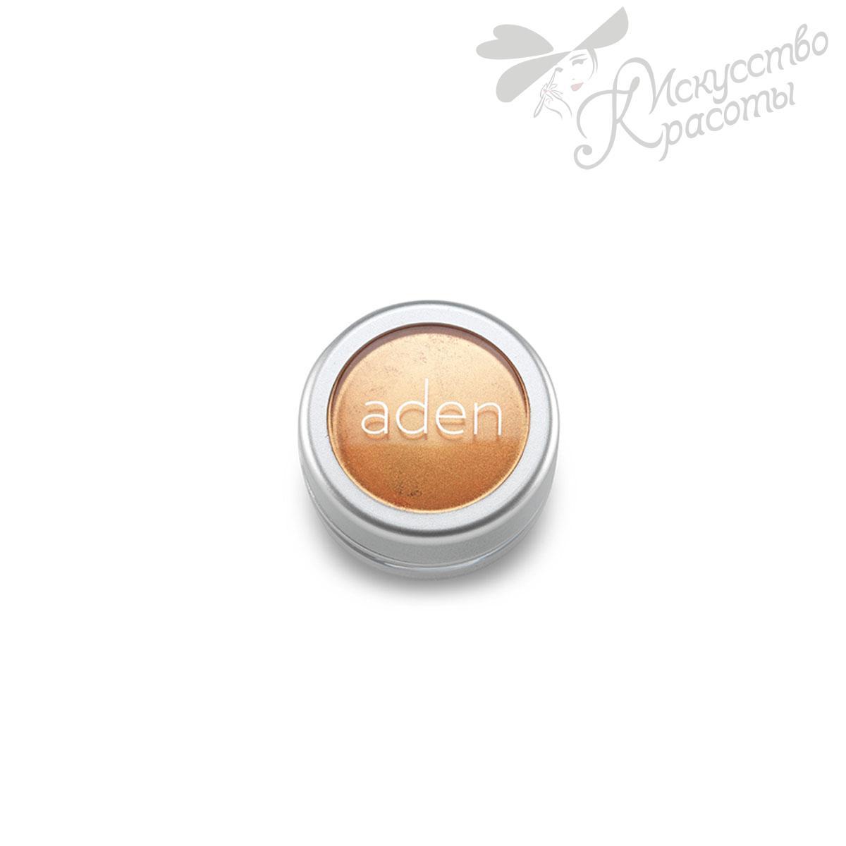Тени для век Loose Powder Eyeshadow / Pigment Powder №13 Honour gold Aden 3г