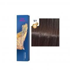 Краска для волос Wella Koleston ME+ 6/1 темный блондн пепельный 60 мл - Wella Professional. цена, купить в Украине