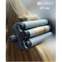 Тройная плойка 3D WAVER 100212 TICO Professional - TICO Professional. цена, купить в Украине