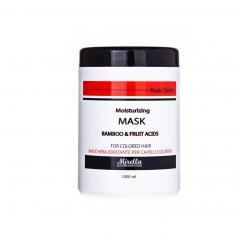 Увлажняющая маска для окрашенных волос Mirella 1000 мл - Mirella Professional. цена, купить в Украине