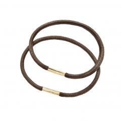 Резинки для волос коричневые EUROstil 1 шт - EURO stil. цена, купить в Украине