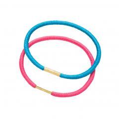 Резинки для волос цветные EUROstil 1 шт - EURO stil. цена, купить в Украине
