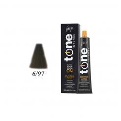 Краска для волос 6/97 блонд темный шоколадный перламутровый Tone Intense Vitality's 100мл - Vitality's. цена, купить в Украине