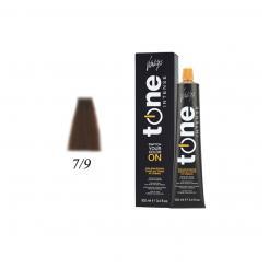 Краска для волос 7/9 блонд шоколадный Tone Intense Vitality's 100мл - Vitality's. цена, купить в Украине