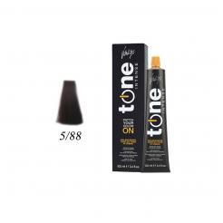 Краска для волос 5/88 каштановый светлый фиолетовый интенсивный Tone Intense Vitality's 100мл - Vitality's. цена, купить в Украине