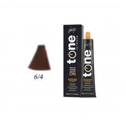 Краска для волос 6/4 блонд темный медный Tone Intense Vitality's 100мл - Vitality's. цена, купить в Украине