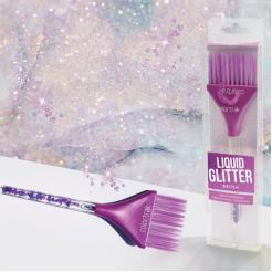 Кисть для окрашивания Liquid Glitter Brush Colortrak - Colortrak. цена, купить в Украине