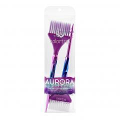 Набор кистей AURORA ASSORTED BRUSHES Colortrak 2 шт - Colortrak. цена, купить в Украине