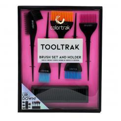 Набор из 5-ти кистей с держателем Tooltrak Colortrak - Colortrak. цена, купить в Украине