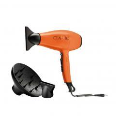Фен для волос оранжевый Gama CLASSIC 2200 Вт - Ga.ma Professional. цена, купить в Украине