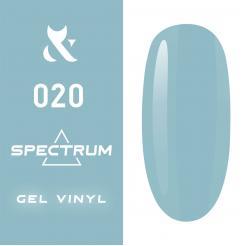 Гель-лак №020 Spectrum F.O.X 7 мл - F.O.X. цена, купить в Украине