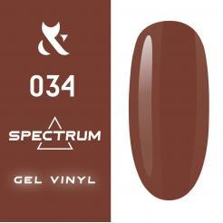 Гель-лак №034 Spectrum F.O.X 7 мл - F.O.X. цена, купить в Украине