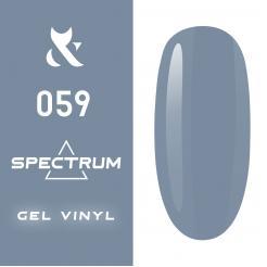 Гель-лак №059 Spectrum F.O.X 7 мл - F.O.X. цена, купить в Украине