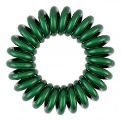 Резинка для волос темно зеленая EZ Bobbles 3шт/уп - Ezbobbles. цена, купить в Украине