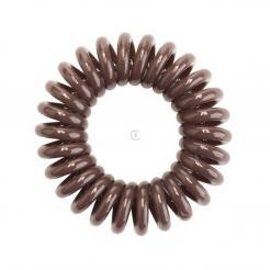 Резинка для волос коричневая EZ Bobbles 3шт/уп - Ezbobbles. цена, купить в Украине