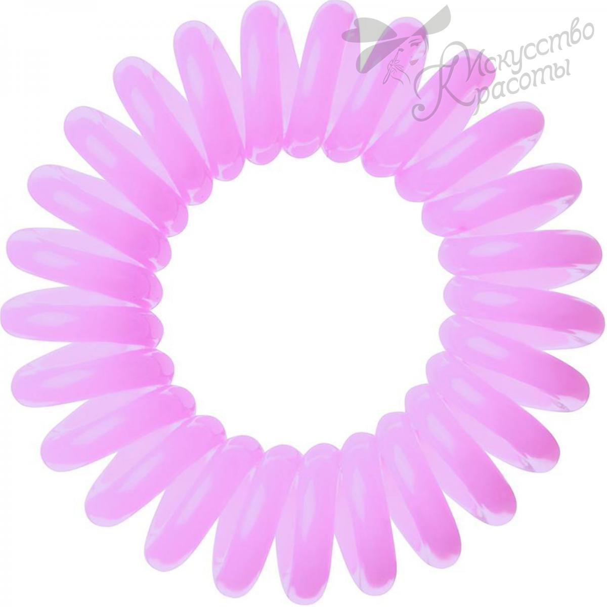 резинка для волос розовая EZ Bobbles 3шт/уп