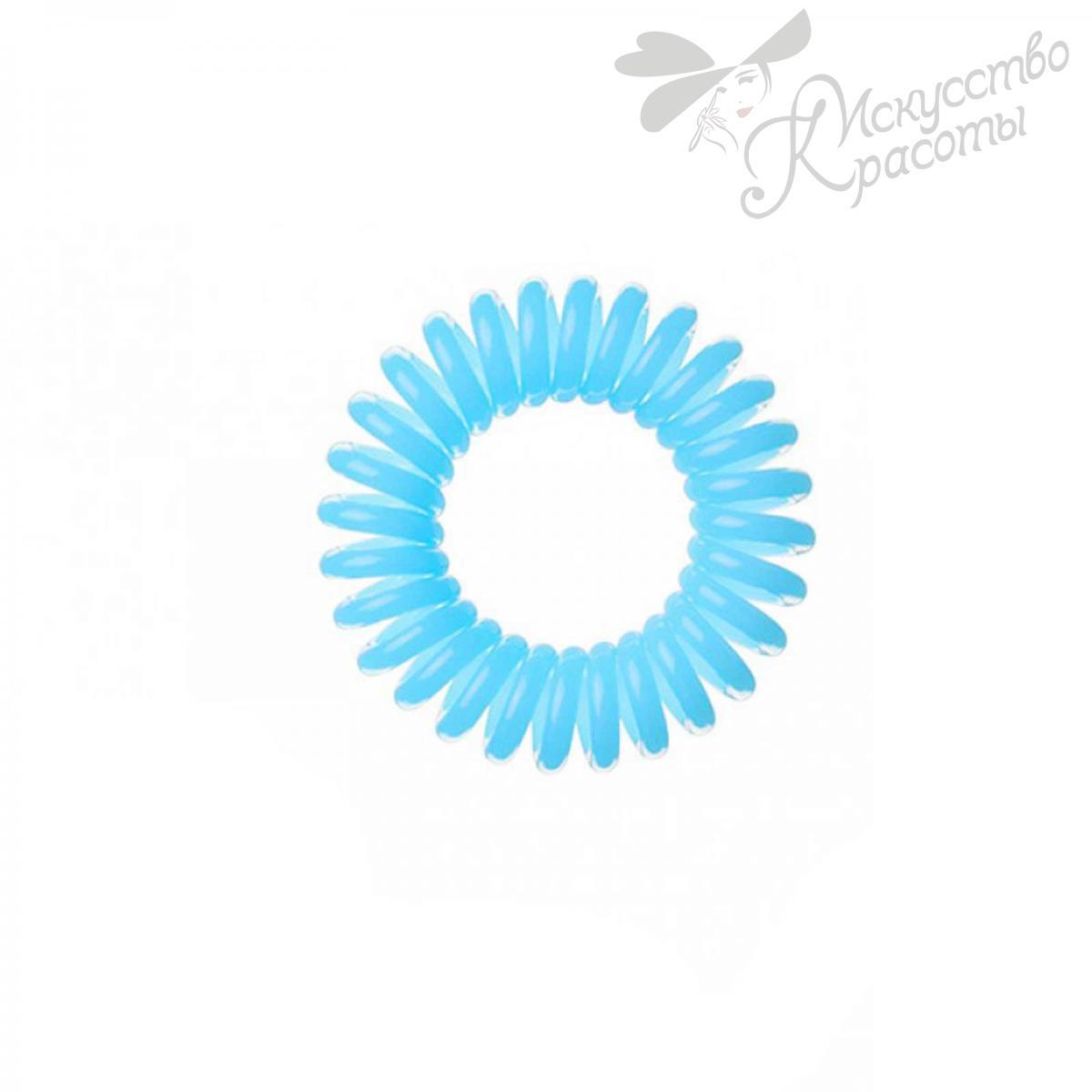 Резинка для волос голубая EZ Bobbles 3шт/уп