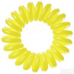 Резинка для волос желтая EZ Bobbles 3шт/уп - Ezbobbles. цена, купить в Украине