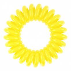 Резинка для волос лимонно-желтая EZ Bobbles 3шт/уп - Ezbobbles. цена, купить в Украине