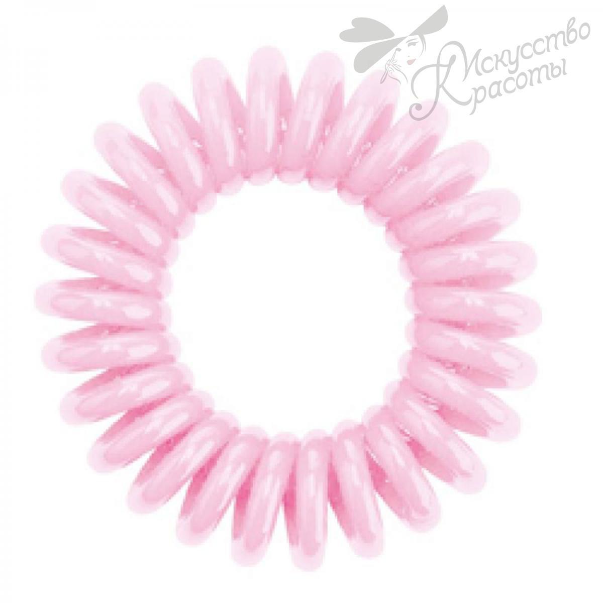 Резинка для волос нежно розовая EZ Bobbles 3шт/уп