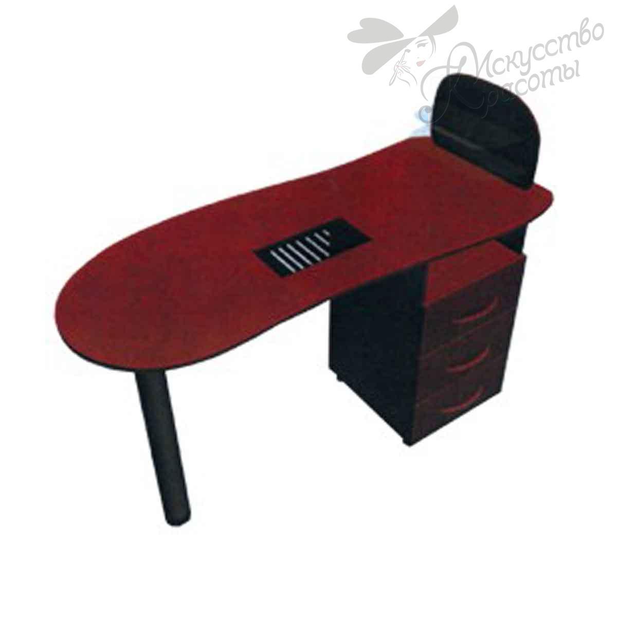 Стол маникюрный СМ-1 с вытяжкой