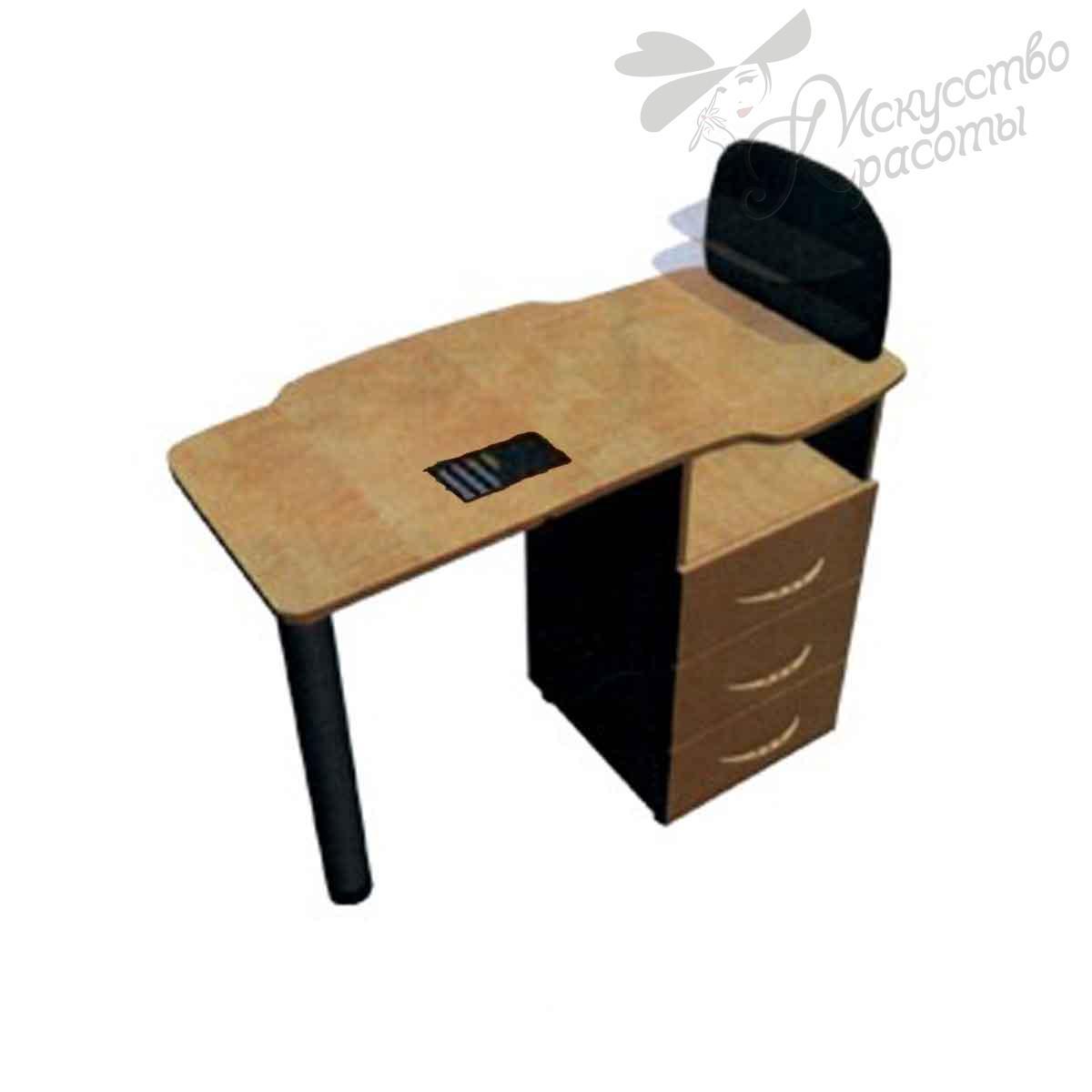 Стол маникюрный СМ-2 с вытяжкой