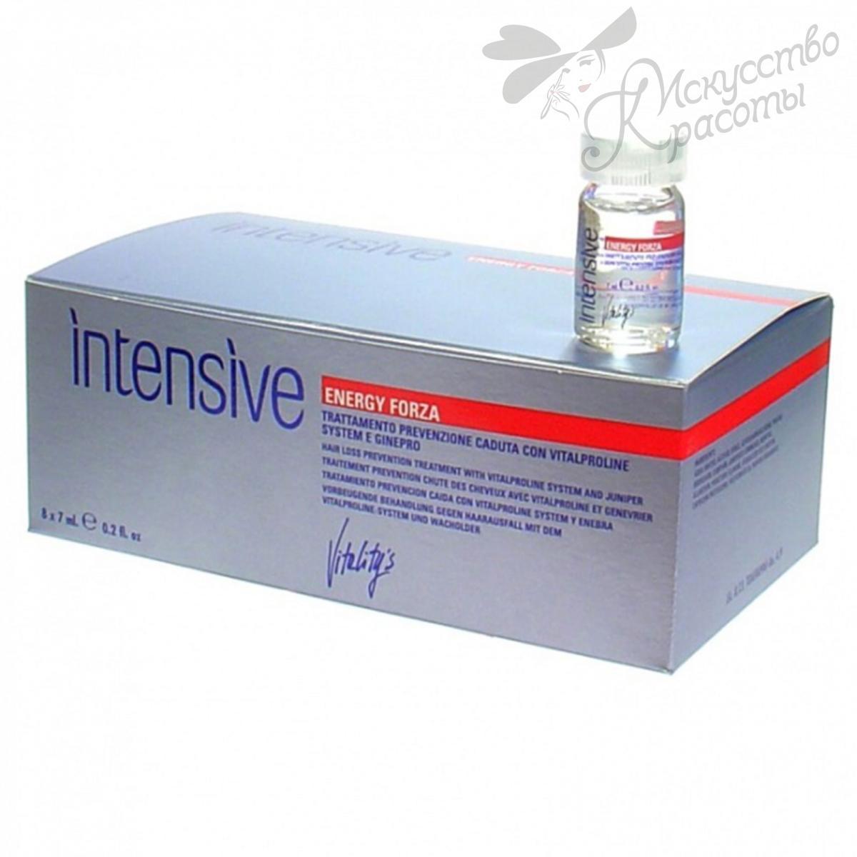 "Лосьон против выпадения Vitality's Intensive Energy Forza"".(8х7мл)"
