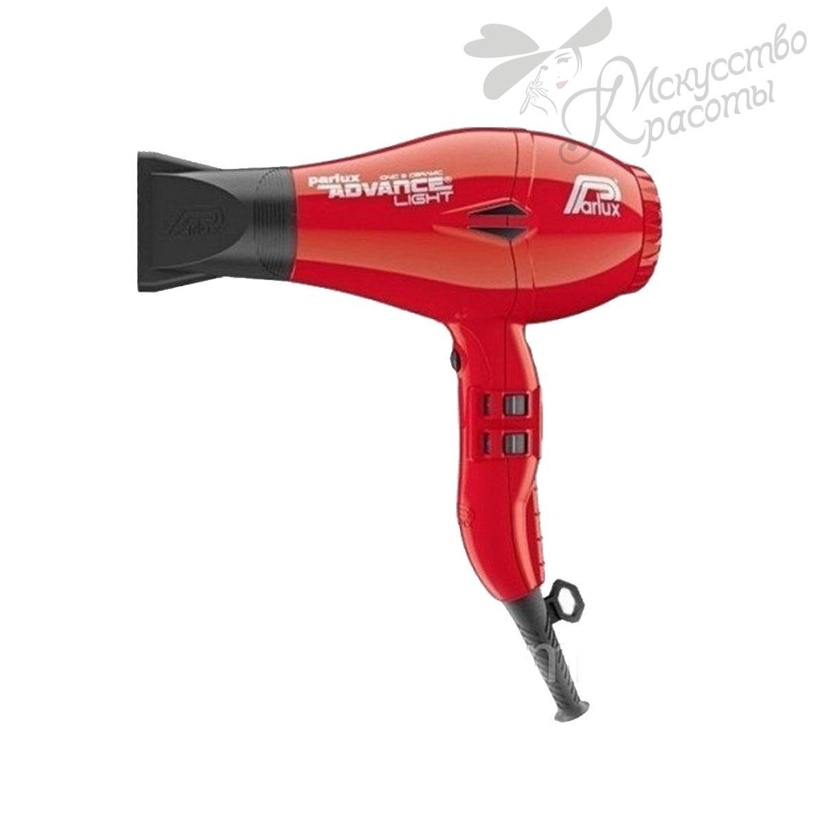 Фен для волос красный Parlux ADVANCE LIGHT 2200W
