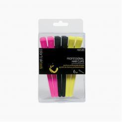 Зажимы для волос Professional Hair Clips Colortrak 6 шт - Colortrak. цена, купить в Украине