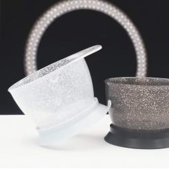Миски на герметической присоске Galaxy Glitter Bowl Colortrak 2 шт - Colortrak. цена, купить в Украине