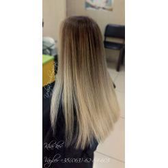 Омбрена на длинный волос