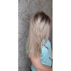 Плавный градиент блонда